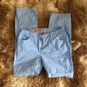 - - Faconnable Baby blue  size 10 pants